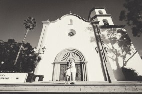 The Front of Mission San Juan Capistrano